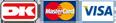 korttyper: Dankort, Mastercard & Visa